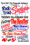 The Beatles Floral Hall Southport Concert Poster 1962