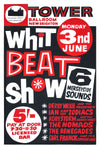Whit Beat Show Concert Poster 1962
