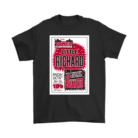 The Beatles & Little Richard Poster T-Shirt
