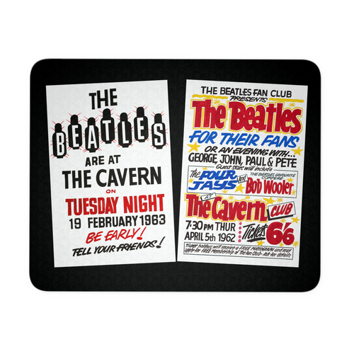 The Beatles Mouse Pad - Cavern Club Posters