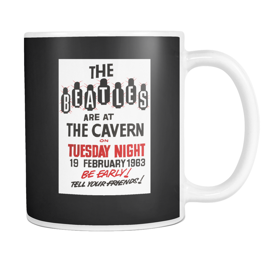 The Beatles at The Cavern Club 1963 Mug