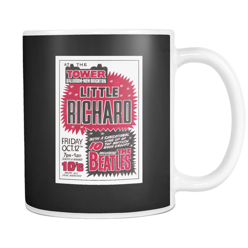 The Beatles & Little Richard Poster Mug