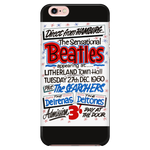 The Beatles Phone Case '1960 Concert Poster' iPhone & Samsung Galaxy