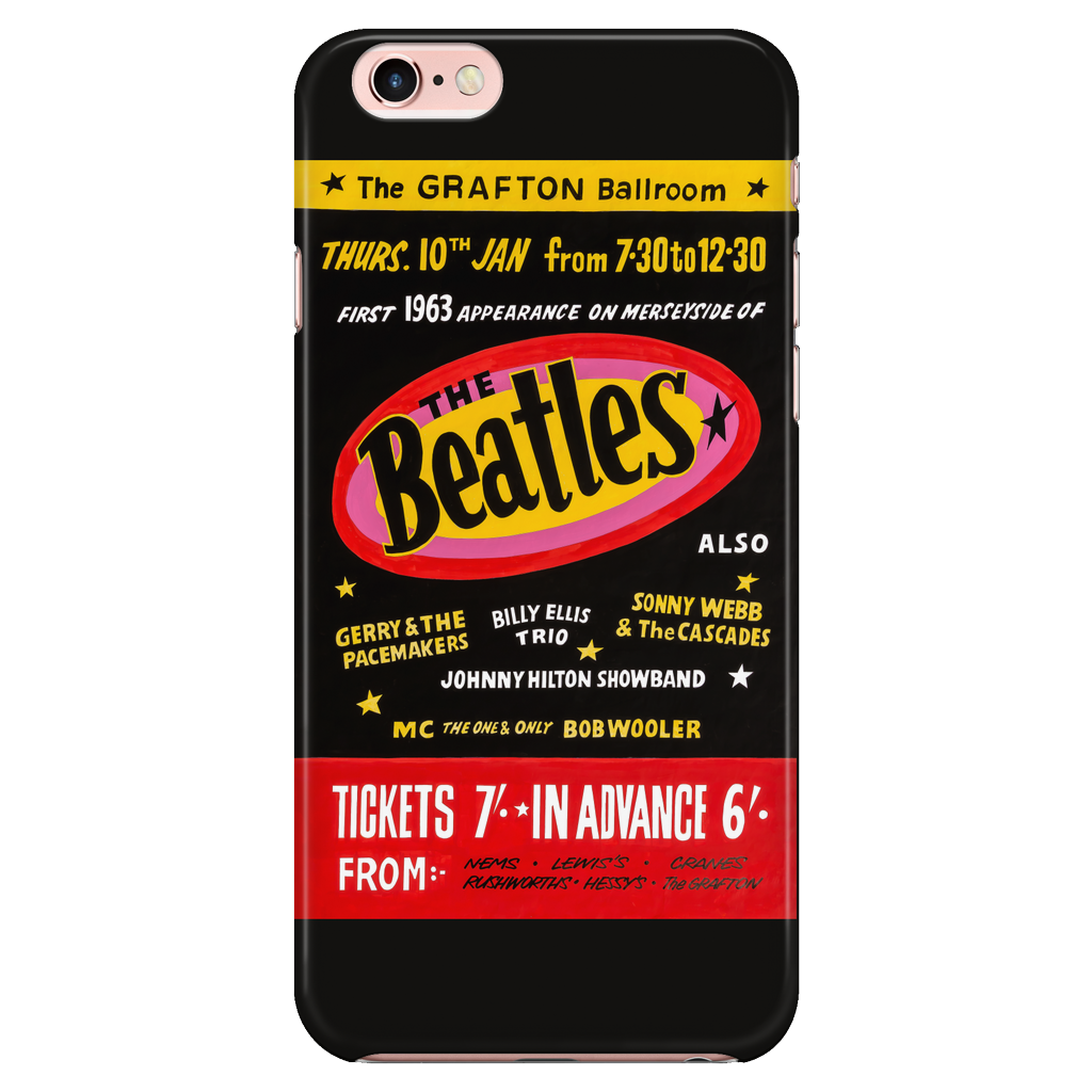 The Beatles iPhone 7/7s/8 Case 'Grafton Ballroom Concert'