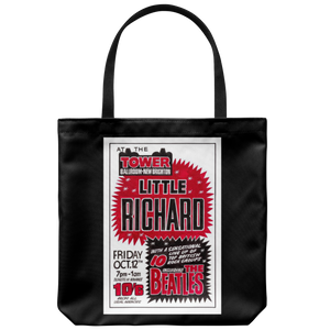 The Beatles & Little Richard Tote Bag