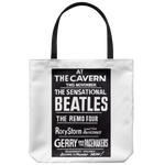 The Beatles Tote Bag At The Cavern Club