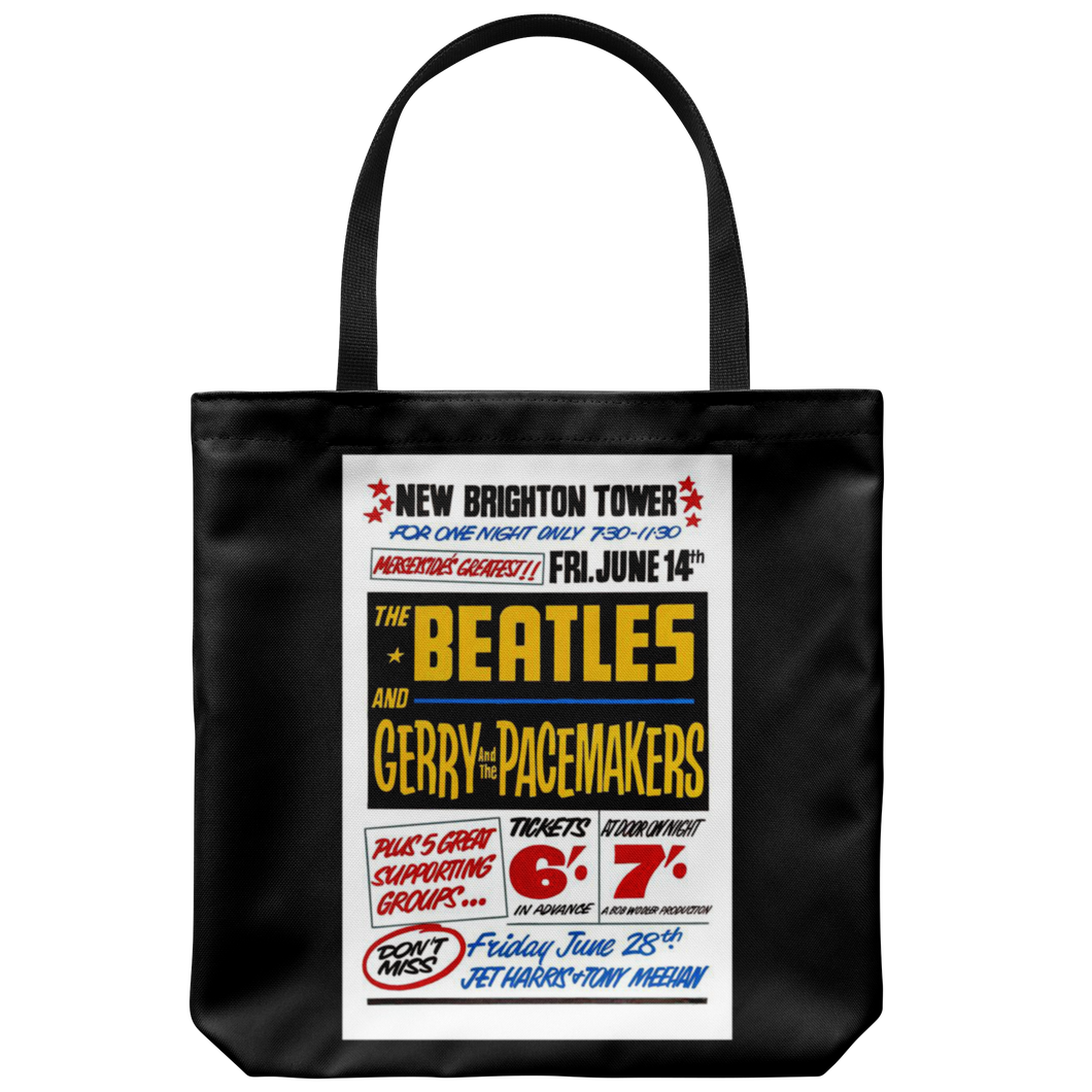 The Beatles Tote Bag at New Brighton Tower