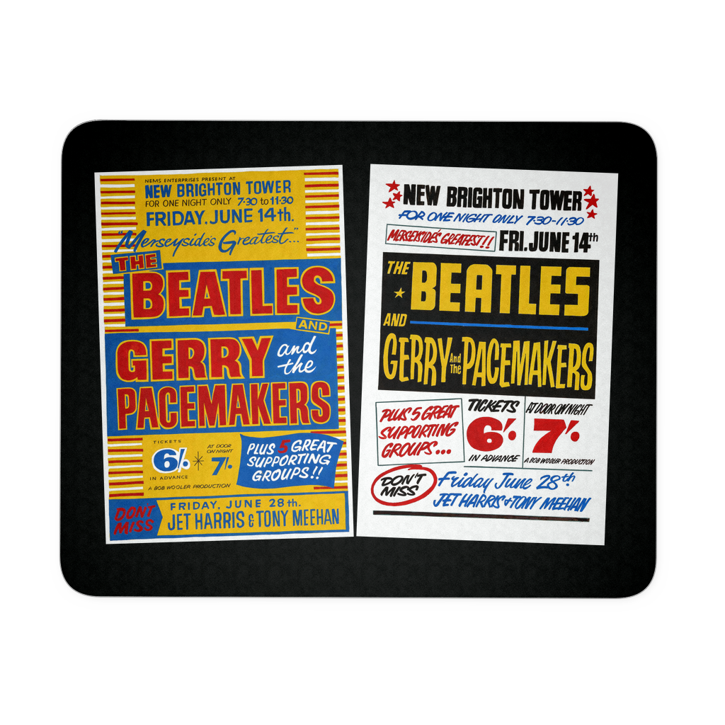 The Beatles Mouse Pad - Tower Ballroom Concert Posters