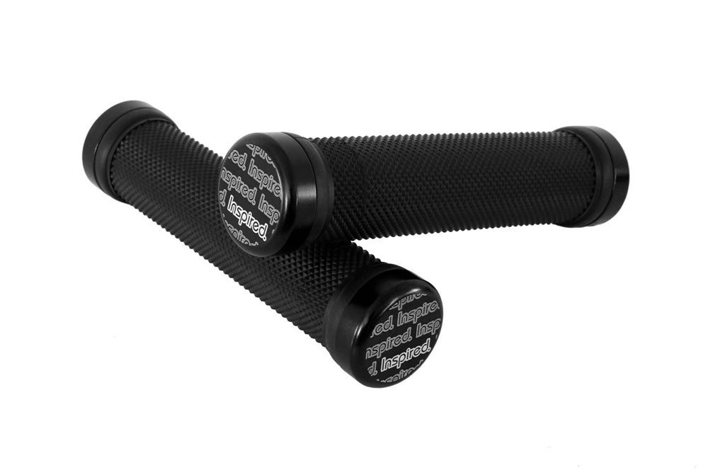 INSPIRED LOGO LOCK-ON GRIPS - UrbanRide Pro Bicycle Shop