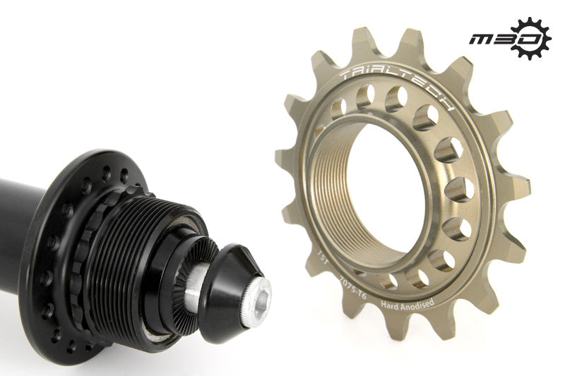 TRIALTECH SPORT LITE M30 135MMREAR NON-DISC HUB & SPROCKET - UrbanRide Pro Bicycle Shop