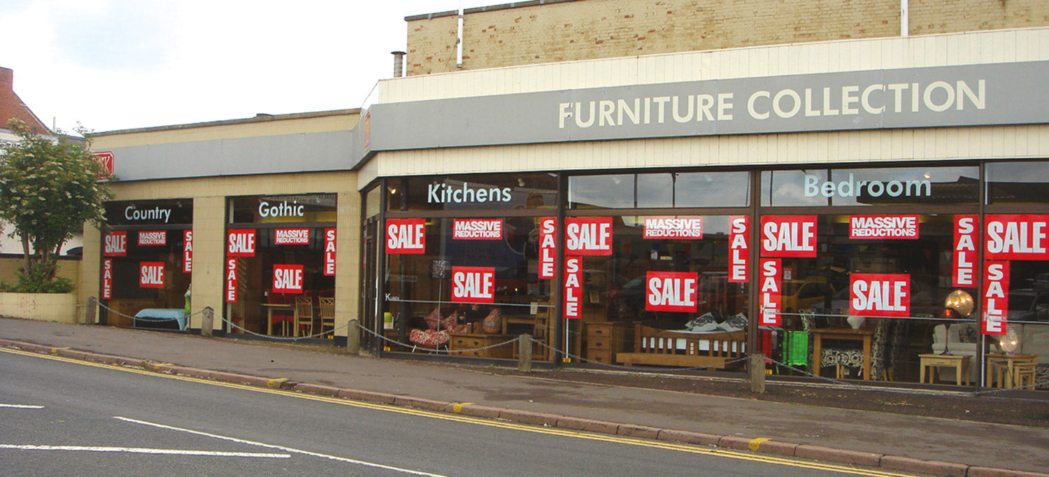 Furniture Shop Sale Posters