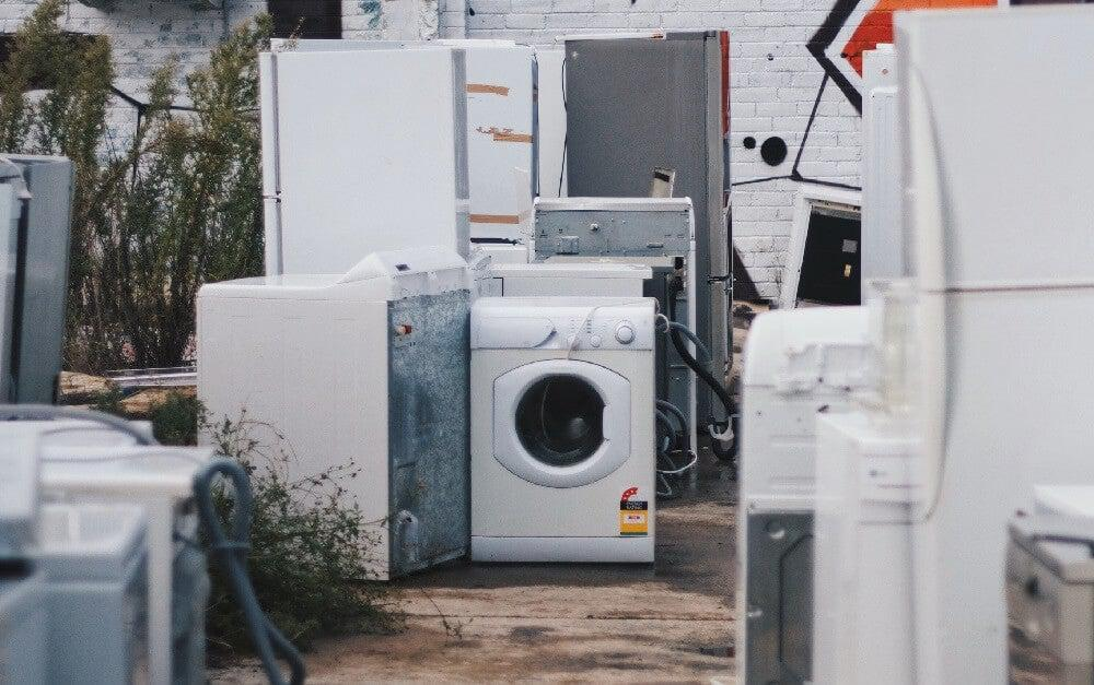 Abandoned electrical appliances