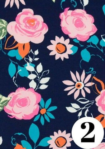 Flower child fabric print by ColieCo Lingerie
