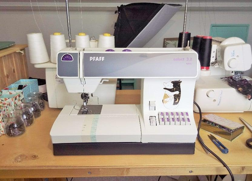 Bertha the Pfaff select 3.2 sewing machine