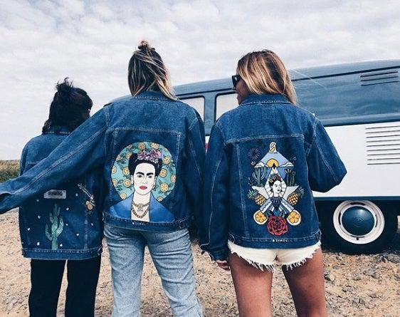 Wild Gypsy Brand painted jackets