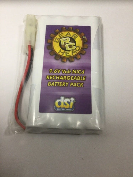 Gear Rc Nicd Rechargeable Battery Pack