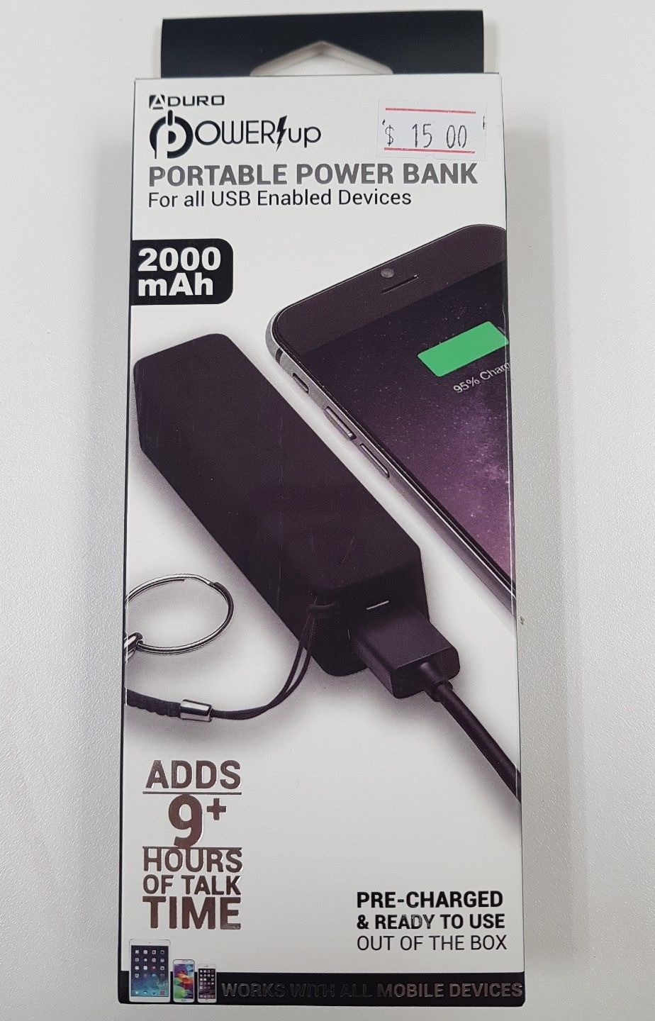 Aduro Power up Portable Power Bank - Resale Shop Canada