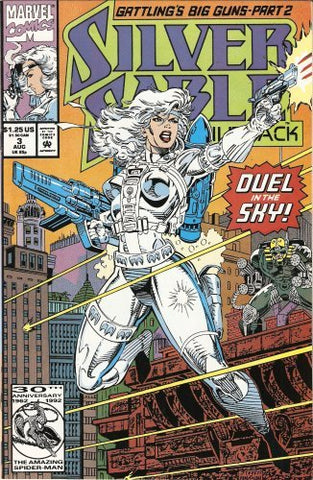 Silver Sable & the Wild Pack #3 August 1992 - Resale Shop Canada