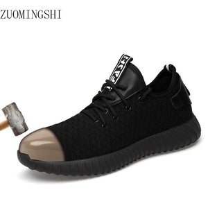 ZUOMINGSHI Steel Toe Light Safety Shoes for Men - Resale Shop Canada