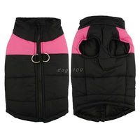 Waterproof Puppy Vest Jacket Warm Winter Dog Clothes