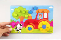 Color Cognition Board Educational Toys For Children