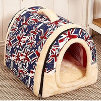 Multifunctional Dog House With Mat (Foldable Travel Pet Bed)