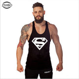 Superman Singlets Mens Tank Tops