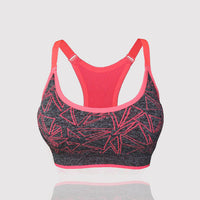 Sports Bra Stretch Tank Top Running Fitness Yoga Vest Tops