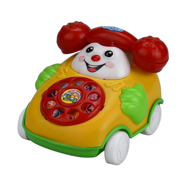 Cartoon Smile Phone Car Developmental Kids Toy