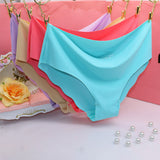 Seamless Ultra-thin Traceless Soft Women's Panties (price is for set of 3 pcs)