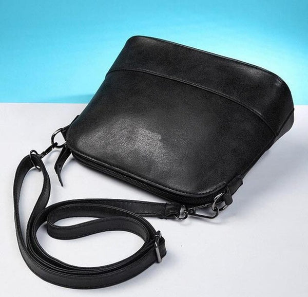 Nubuck Leather handbag (small shoulder handbag)