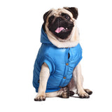 Warm Down Vest Waterproof Jacket for Small Dogs