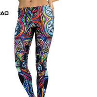 Women Animal Lion Yoga Leggings
