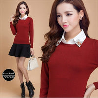 Autumn Winter Cashmere Women's Pullover Sweater