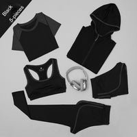 Women's Yoga 5pcs/Set Fitness Gym Running Sports