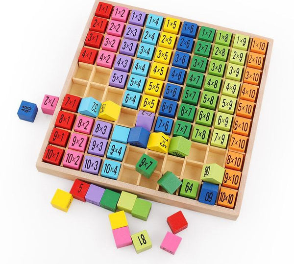 Arithmetic Educational Wooden Toy for Children