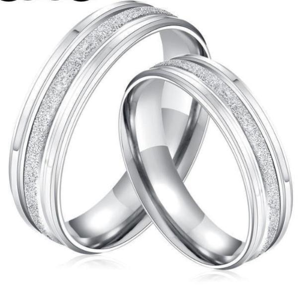 Stainless Steel Ring Silver Color