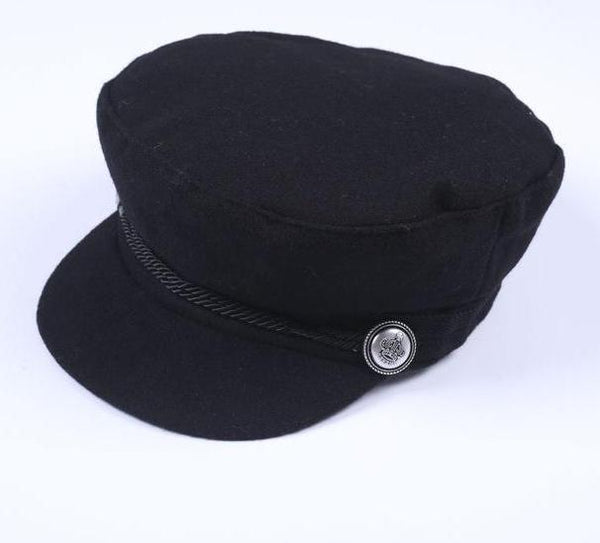 Black Hat Cap For Women