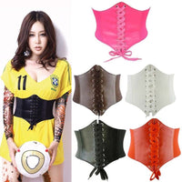 Corset Wide Leather Slimming Body Belts For Women