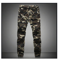 Men's Jogger Pencil Harem Pants Camouflage Military Pants Cargo Trousers Joggers For Men