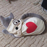 Coat Hoodie Clothing For Small Cats