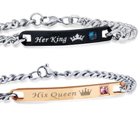 Her King and His Queen Bracelets