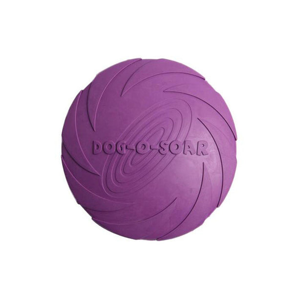 Outdoor Natural Rubber Frisbee Dog Teeth Cleaning Chewing Toys - MINIMUM ORDER 2 PCS