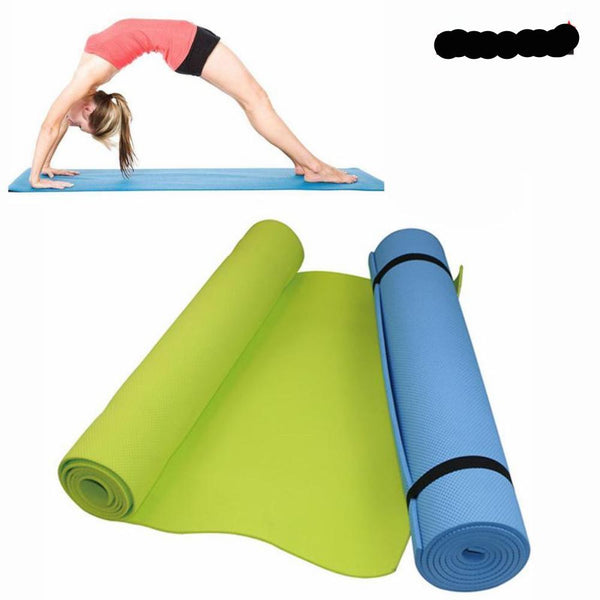 6MM Thick Yoga Mat for Exercise, Yoga, and Pilates