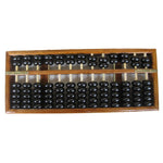 Educational Chinese Wooden Abacus Math Calculator
