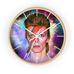 Bowie Colour Burst Wall clock - Havana86