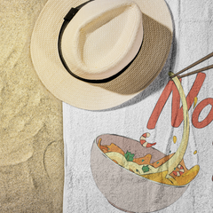 Noodle Bar Beach Towel - Havana86