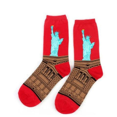 Famous Artwork Socks - New York - Havana86