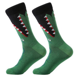 Funky Crew Socks - Crocodile Attack - Havana86