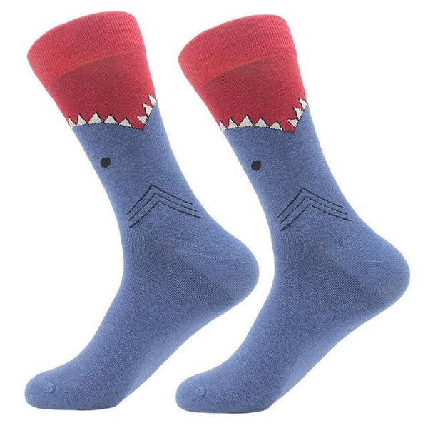 Funky Crew Socks - Shark Attack - Havana86